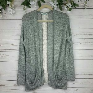 Maurices Open Front Cardigan With Pockets